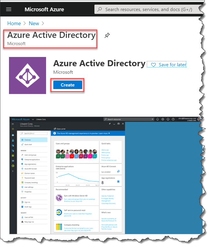 how to set up azure active directory