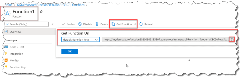 publish azure function from visual studio