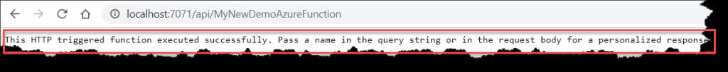 run azure functions locally
