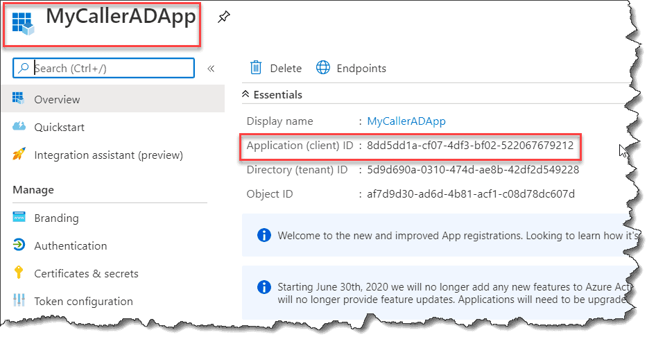 Azure AD authentication in Azure Functions