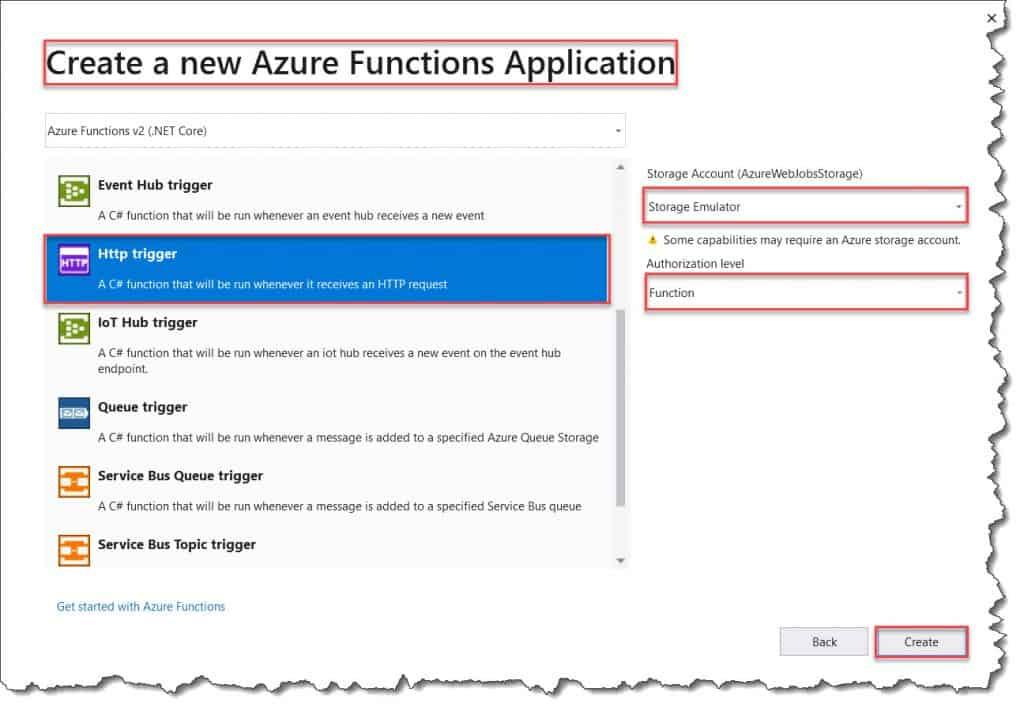 Azure Function With Entity Framework 1