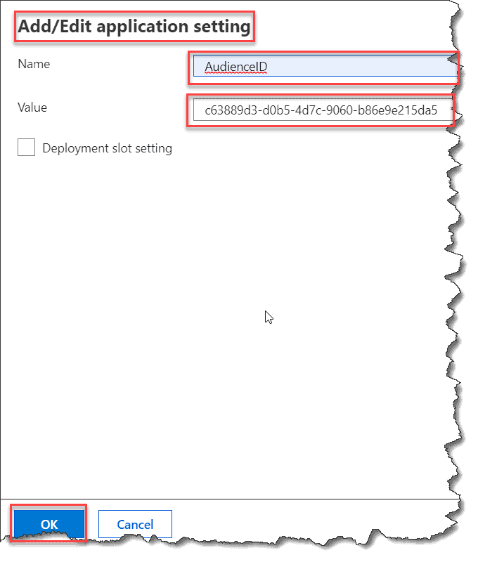 AzureAD authentication