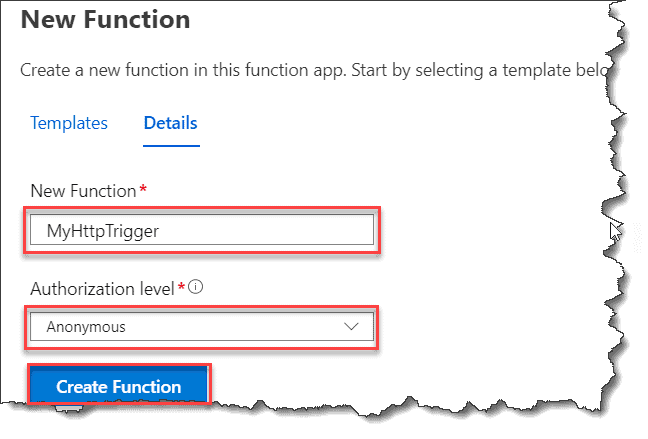 Call Azure Function from Sharepoint Framework