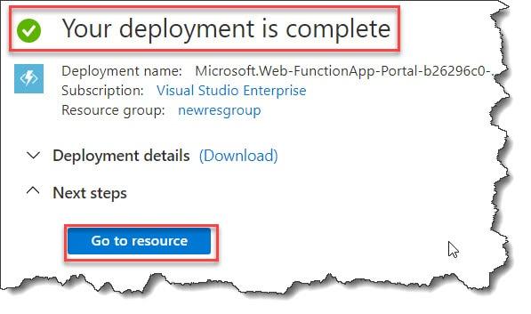 create App Service Plan Azure Function