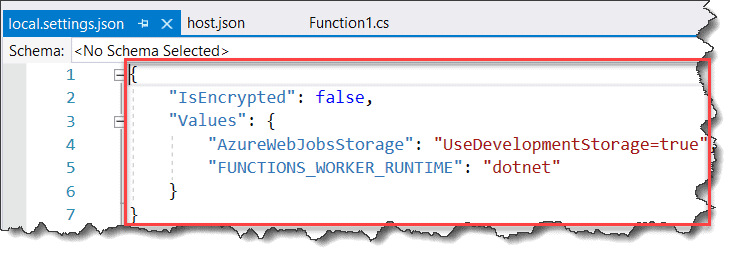 Create the Durable Functions using Visual Studio