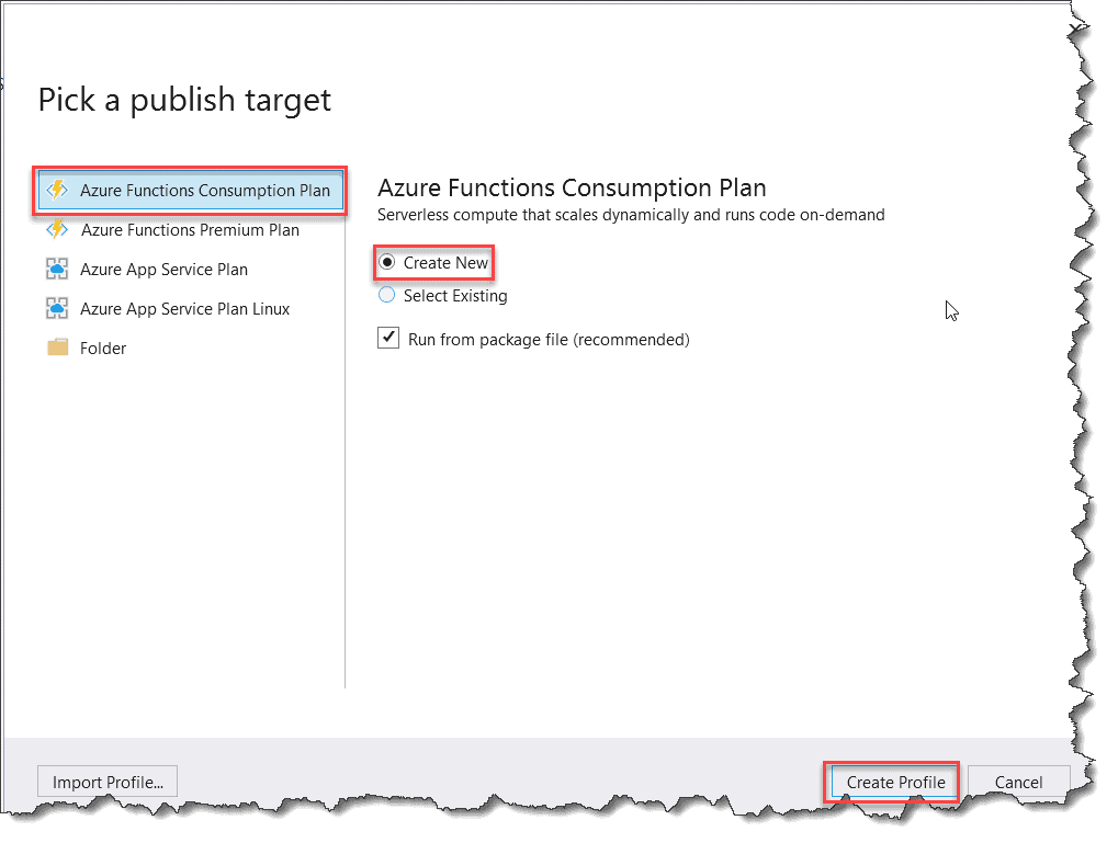 Deploy Azure Functions Time Trigger From Visual Studio 2019