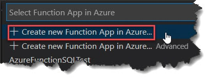 Deploy PowerShell Azure Function Visual Studio Code