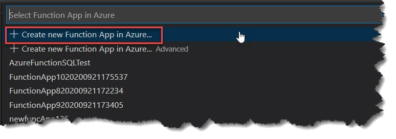 Deploy Python Azure Function To Azure