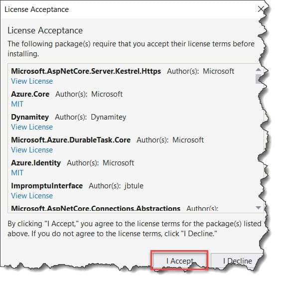 Develop Durable Functions Using Visual Studio