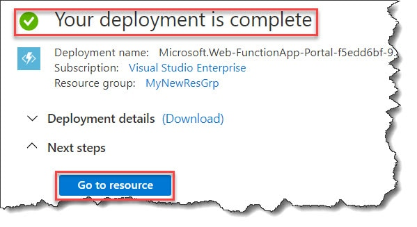 Develop Python Azure Function In Azure Portal