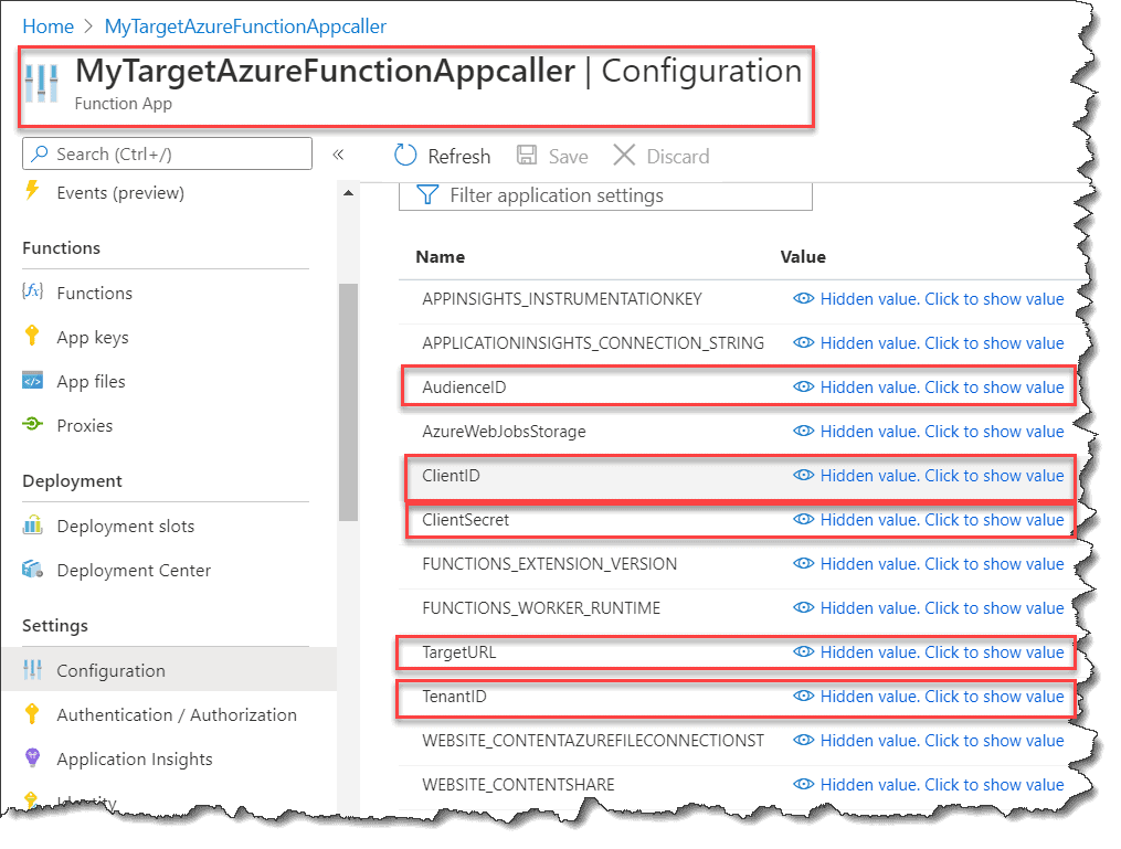 Enable authentication on Azure Function