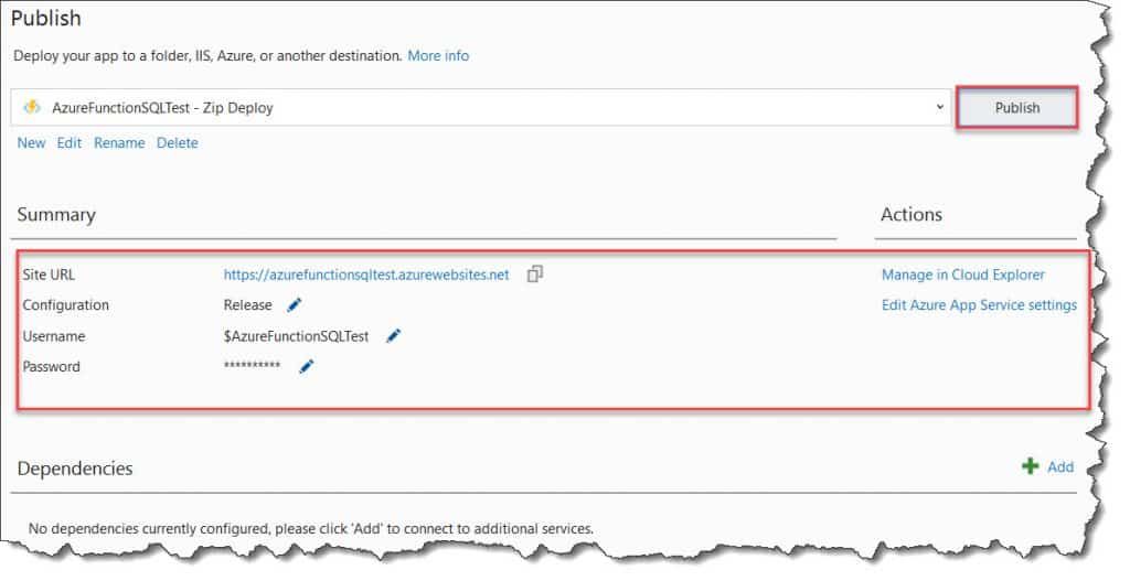 How To Call A Stored Procedure From Azure Function