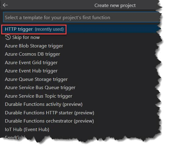 How To Create PowerShell Azure Function in Visual Studio Code