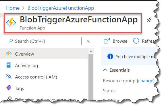 How To Figure Out InBound IP Address For Azure Functions
