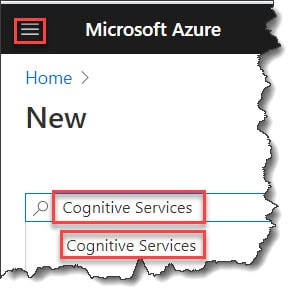 How do I use Microsoft cognitive services API