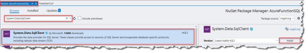 How to Create A Stored Procedure In The Azure SQL Database Using Azure Portal