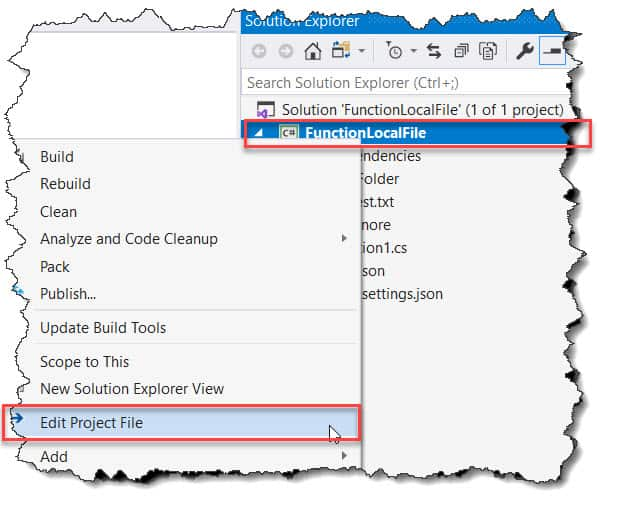 How to find Azure Functions Run Time Version in the Visual Studio