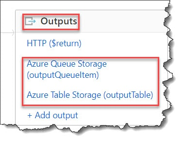 How to implement Azure Function Multiple Output Bindings C#