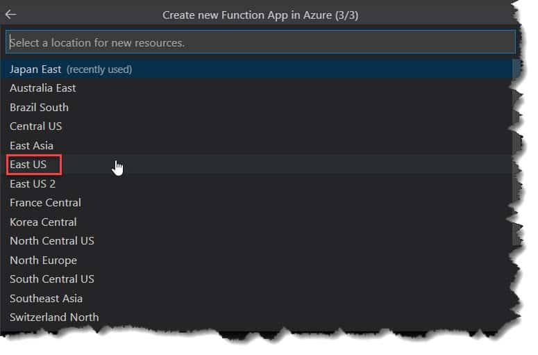 How to publish Python Azure Function To Azure from Visual Studio Code