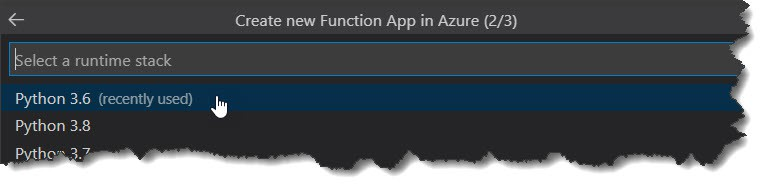 How to publish Python Azure Function To Azure