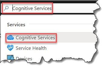How to use Azure Cognitive Services
