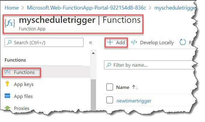 Http Triggered Azure Function Example