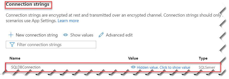 Instantiate Database Connection In Azure Functions Azure Portal