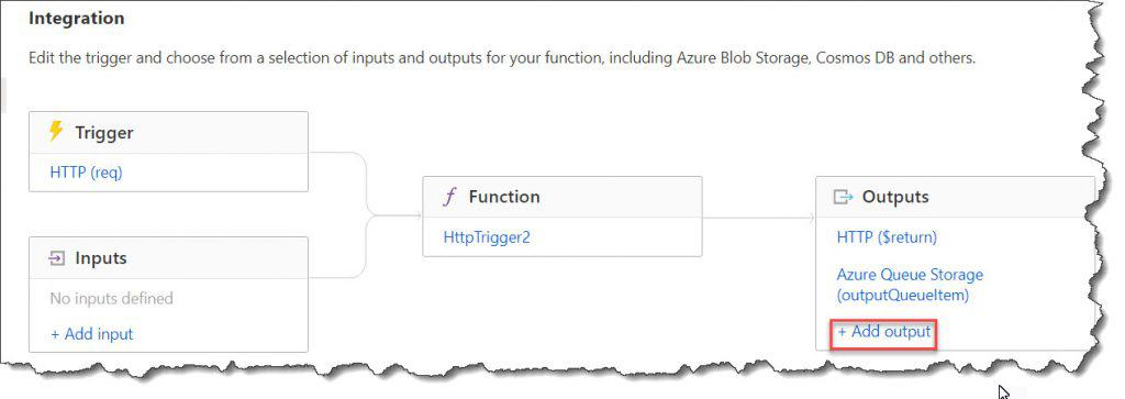 Multiple output in Azure Functions with C# Example
