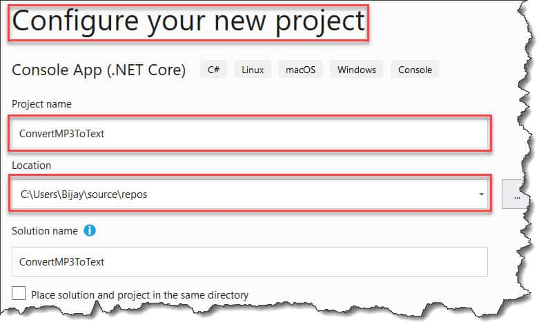Speech to text mp3 audio files using Azure Cognitive Services and .NET Core