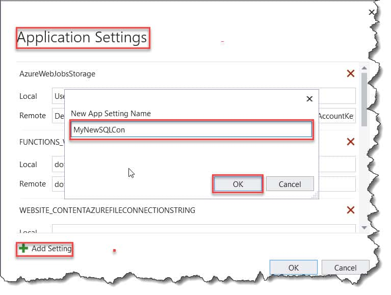 Where To Define Database Connection In Azure Functions