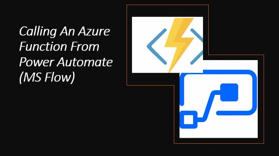 calling azure function from power automate ms flow