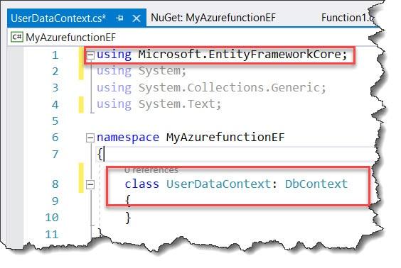 using Microsoft.EntityFrameworkCore; using System; using System.Collections.Generic; using System.Text;