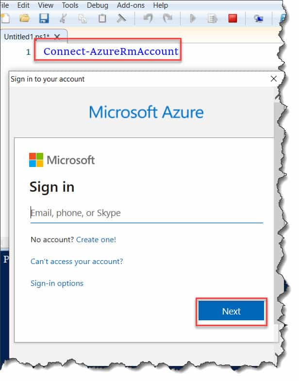 Create Azure Cognitive Services PowerShell
