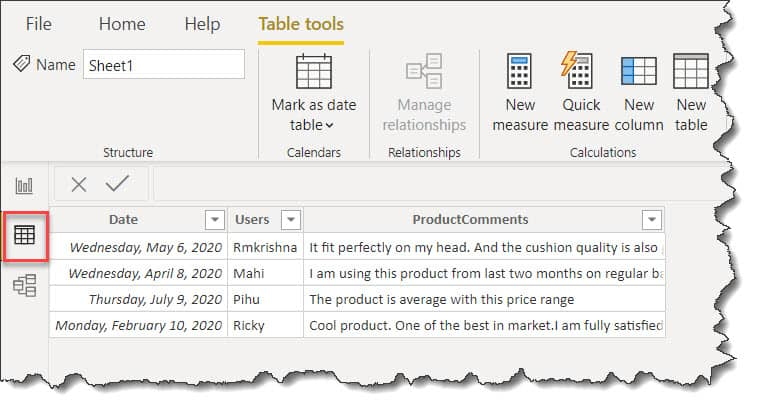 How To configure Azure Text Analytics In Power BI
