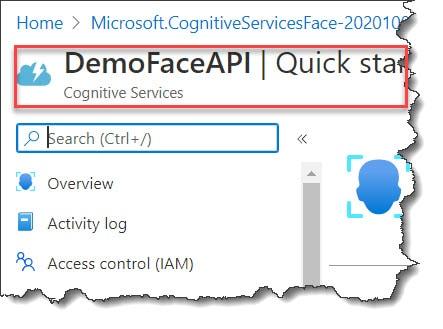 How to Create Azure Face API Azure Portal