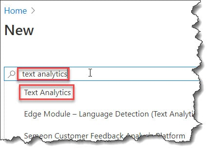 How to Create Azure Text Analytics API