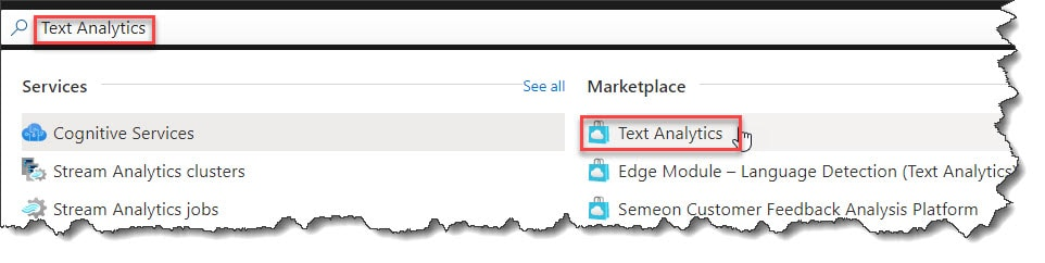 How to Create Azure Cognitive Services Text Analytics API In Azure Portal