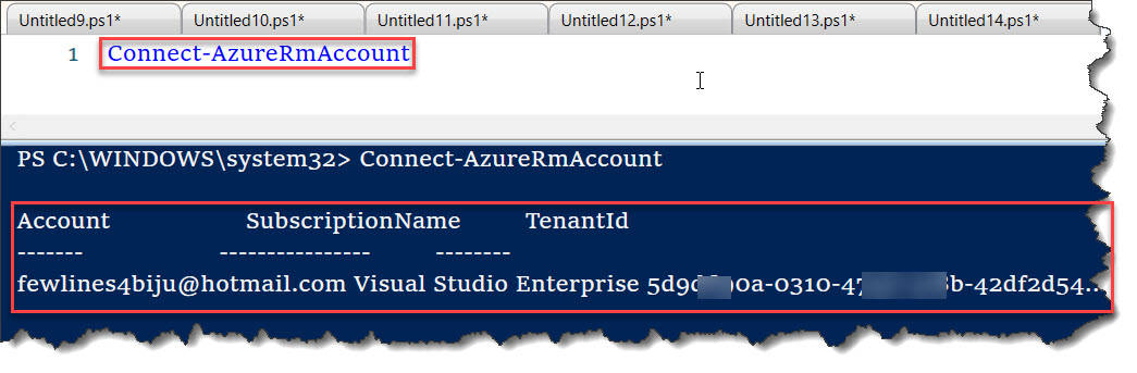 The Term 'Connect-AzureRmAccount' is Not Recognized