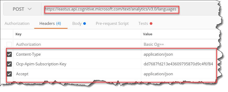 Detect Text Language using Azure Cognitive Services