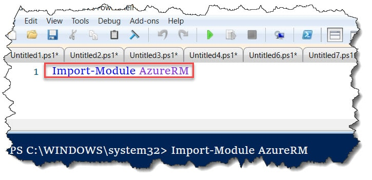 AzureRM module not loaded