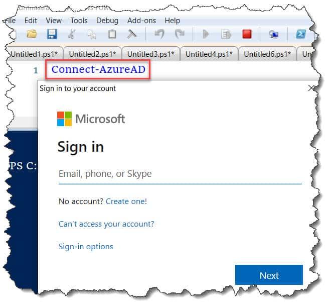 Connect-AzureAD