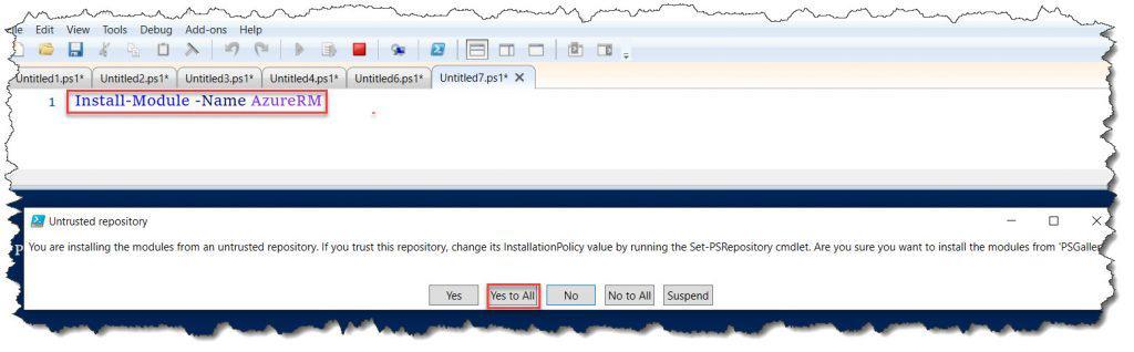 How to Install AzureRM PowerShell module
