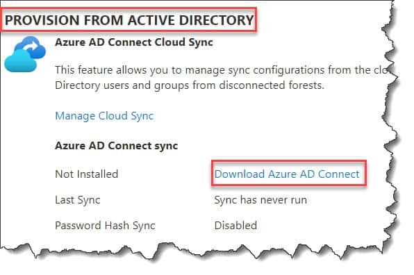 Where to download AAD Connect