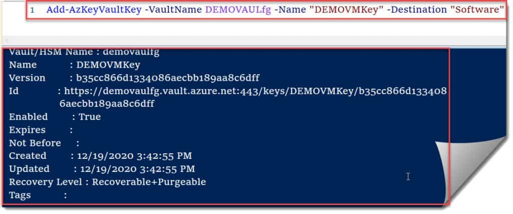 azure disk encryption linux step by step