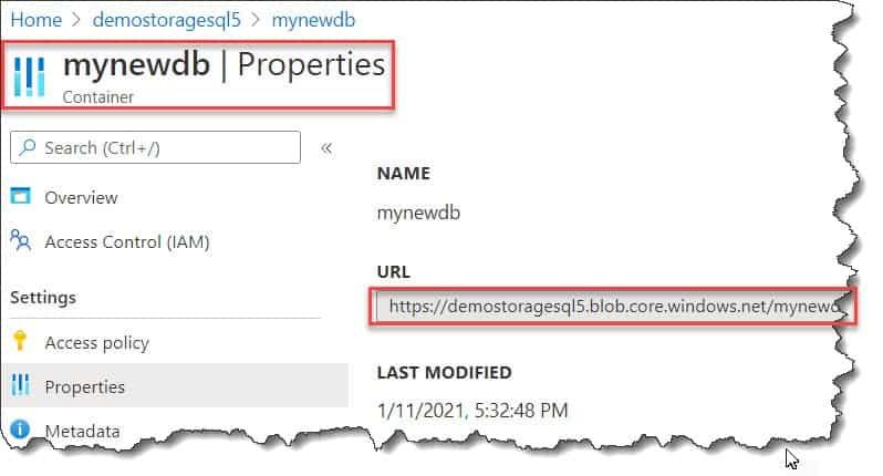 How to Backup Azure SQL Database To Blob Storage