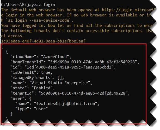 Create a Storage Account Azure CLI
