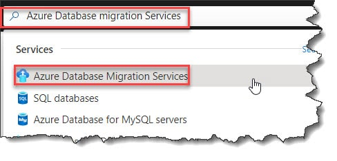 How To Create Azure Database Migration Services