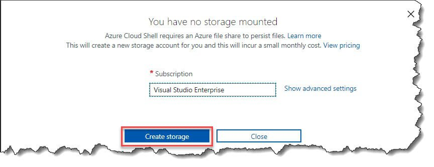 How to access Azure Cloud Shell using Azure Portal
