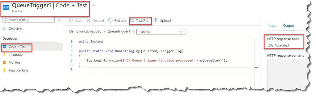 What is Azure Function Manual Trigger