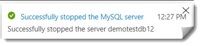 How To Stop Azure SQL Database for MySQL